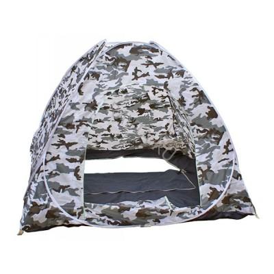 Палатка зимняя 2.5м*2.5м, автоматическая, дно на молнии