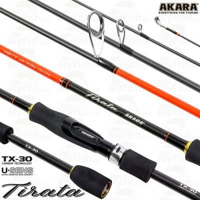 Akara SL1002 Tirata TX-30, тест (3,5-10,5) 2.30 м