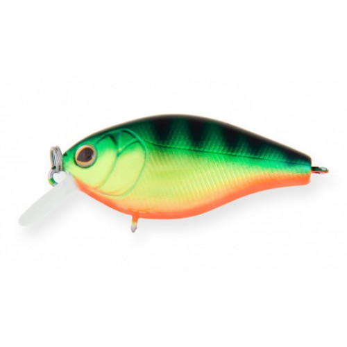 Воблер Крэнк Strike Pro Cranky-X 50, 50 мм, 7,9 гр, Загл. 0,3м.-0,7м., Плавающий, цвет: A45T Natural Perch, (EG-165#A45T)