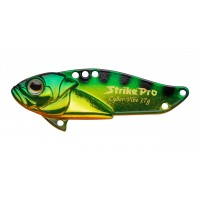 Блесна-Цикада Strike Pro Cyber Vibe 45, 45 мм, 9,1 гр, цвет: Natural Perch, (JG-005C#A45E)