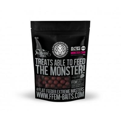 Пылящие бойлы FFEM Soluble Boilies Monster Crab/Монстр Краб 22mm 1кг
