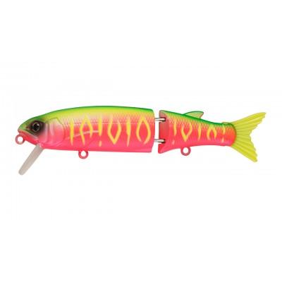 Воблер Составной Strike Pro Glider 90, 90 мм, 9,2 гр, Загл. 0,3м.-0,8м., Нейтральный, цвет: A230S Watermelon Mat Tiger, (EG-157A-SP#A230S)
