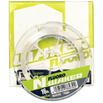 Флюорокарбон YGK Nasuly N-WAKER Fluoro 91m #0.8/3LB