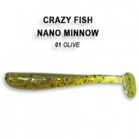 "Nano minnow 1.6"" 6-40-1-6"