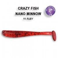 "Nano minnow 1.6"" 6-40-11-6"
