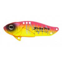 Блесна-Цикада Strike Pro Cyber Vibe 45, 45 мм, 9,1 гр, цвет: Brick Mat Tiger, (JG-005C#A221S)