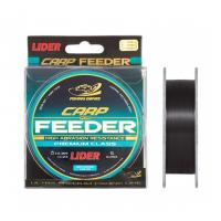 Леска монофильная LIDER CARP plus FEEDER BLACK 300 м 0.28мм