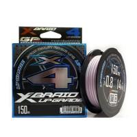 Плетеный шнур YGK X-Braid Upgrade PE х4, #1.2, 150 м, светло-розовый
