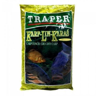 Прикормка Traper ПОПУЛЯРНАЯ 1kg Карп-Линь-Карась