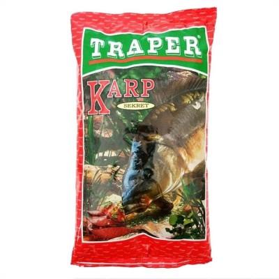Прикормка Traper SEKRET 1kg Карп красный