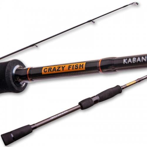 Спиннинг Crazy Fish Kaban KB692M-T 2.09m 8-24gr
