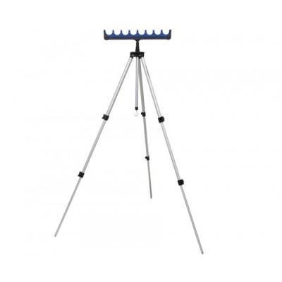 Тренога телескопическая FLAGMAN для 6-ти удилищ