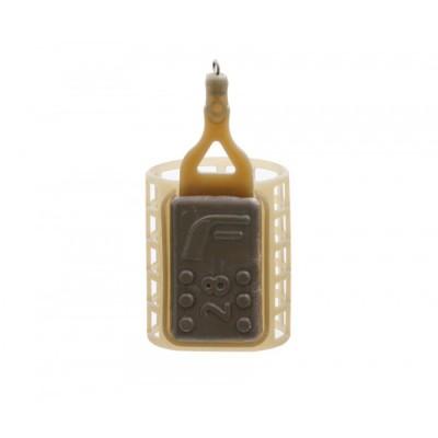 Кормушка пластиковая Flagman фидерная маленькая сетка 28,0g