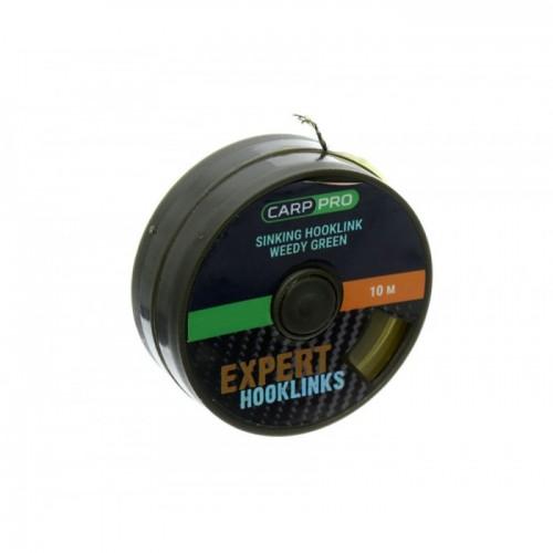 Поводковый материал без оболочки Carp Pro Weedy Gr. Sinking 25lb 10m