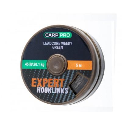 Ледкор зеленого цвета Carp Pro 5м 45lb