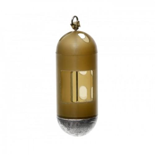 FLAGMAN Кормушка фидерная для опарыша пластиковая средняя 50г