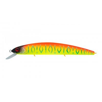Воблер Минноу Strike Pro Montero 110SP, 110 мм, 13,6 гр, Загл. 0,8м.-1,6м., Нейтральный, цвет: A242S Sunrise Mat Tiger, (EG-190C-SP#A242S)