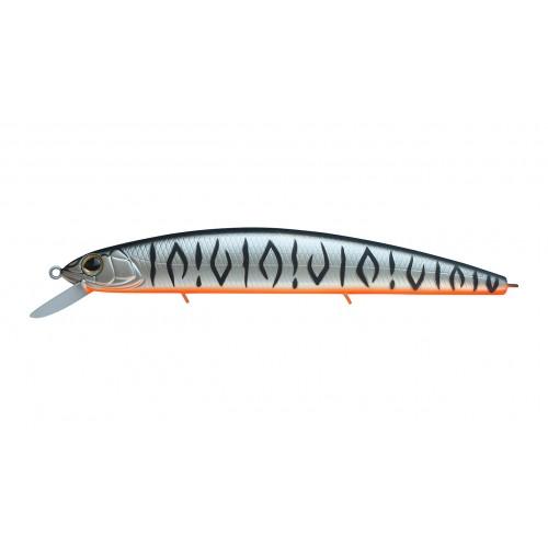 Воблер Минноу Strike Pro Montero 110SP, 110 мм, 13,6 гр, Загл. 0,8м.-1,6м., Нейтральный, цвет: A243ES Grey Shadow Mat Tiger, (EG-190C-SP#A243ES)