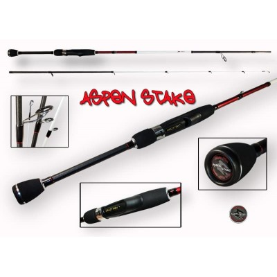 Спиннинг Crazy Fish ASPEN STAKE AS762LT 2.30m 3-15gr