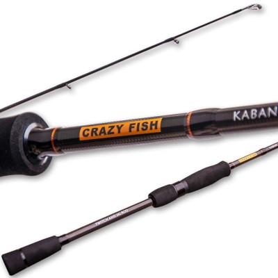 Спиннинг Crazy Fish Kaban KB692MH-T 2.09m 7-28gr