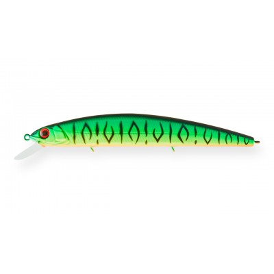Воблер Минноу Strike Pro Montero 130SP, 130 мм, 20,6 гр, Загл. 1,0м.-2,0м., Нейтральный, цвет: GC01S Mat Tiger, (EG-190B-SP#GC01S)
