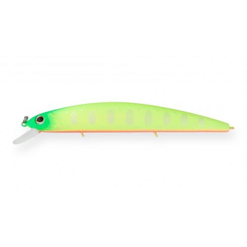 Воблер Минноу Strike Pro Montero 130SP, 130 мм, 20,6 гр, Загл. 1,0м.-2,0м., Нейтральный, цвет: A178S Lemon Mat Tiger, (EG-190B-SP#A178S)