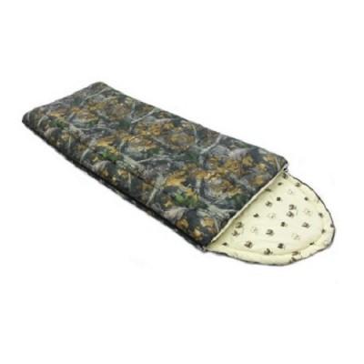 Спальный мешок Balmax Alaska Camping Series 250x90 см с подголовником (-0°С) Лес
