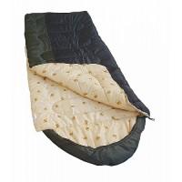 Спальный мешок Balmax Alaska Camping Plus 230x85 см с подголовником (10°С) Хаки