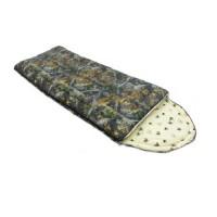 Спальный мешок Balmax Alaska Standart series 250х90 см с подголовником (-5°С) Лес