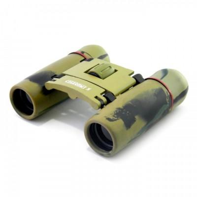 Бинокль СЛЕДОПЫТ 10х22, 3-х цветный камо, PF-BT-02