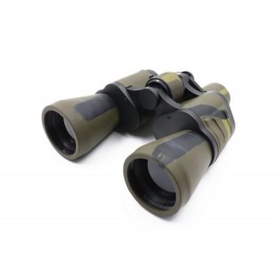 Бинокль СЛЕДОПЫТ,10х50, зеленый-защитный, 660гр/PF-BT-06