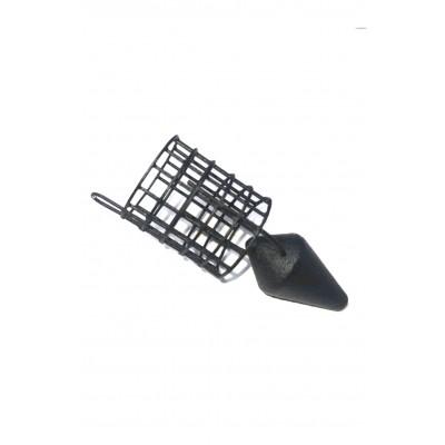 Кормушка фидерная С+ Пуля Bullet Feeder металл 65гр