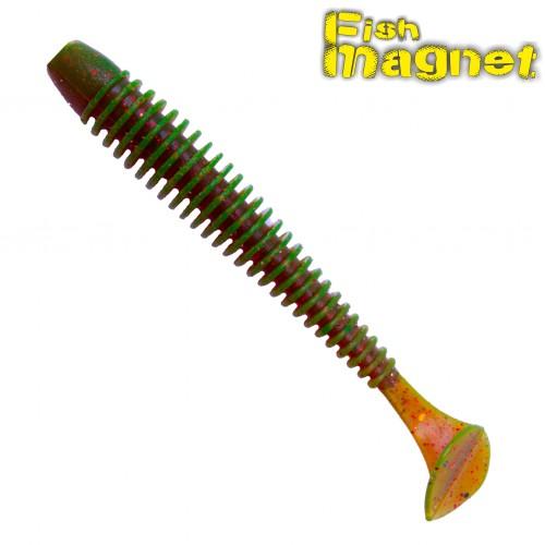 """Виброхвост Fish Magnet CHOPPY 2.5"""" #001"""