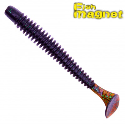 Виброхвост Fish Magnet  CHOPPY 2″ #101