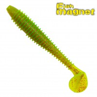 "Виброхвост Fish Magnet CHOPPY FAT 2.8"" #002"