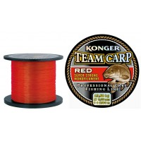 Леска KONGER TEAM CARP RED 1000м 0.30мм