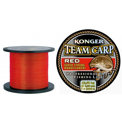 Леска KONGER TEAM CARP RED 1000м 0.22мм