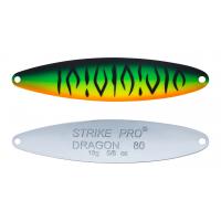 Блесна колеблющаяся Strike Pro Dragon Double 80M, 80 мм, 18 гр, Двойник-незацепляйка, (ST-07FD#GC01S-CP)