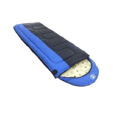 Спальный мешок Balmax Alaska Expert series 250х90 см с подголовником (-15°С) Синий