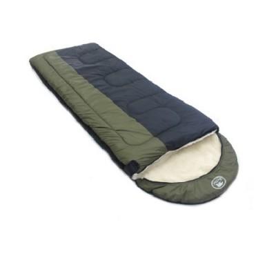 Спальный мешок Balmax Alaska Expert series 250х90 см с подголовником (-10°С) Хаки
