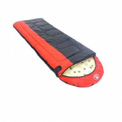 Спальный мешок Balmax Alaska Expert series 250х90 см с подголовником (-10°С) Красный