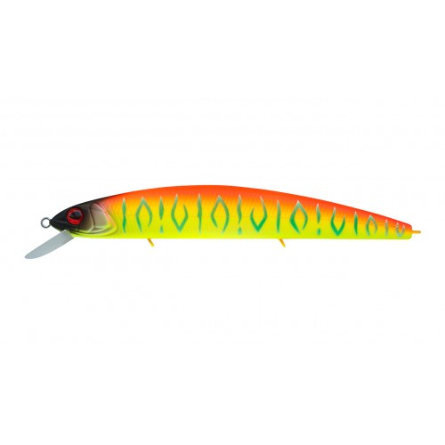 Воблер Минноу Strike Pro Montero 130SP, 130 мм, 20,6 гр, Загл. 1,0м.-2,0м., Нейтральный, цвет: A242S Sunrise Mat Tiger, (EG-190B-SP#A242S)