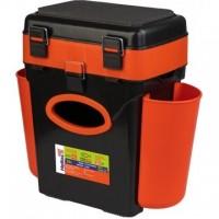 Ящик FishBox двухсекционный 10л оранжевый Helios