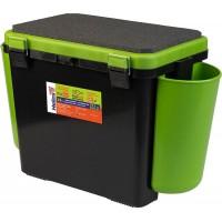 Ящик FishBox односекционный 19л зеленый Helios