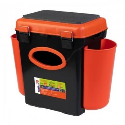Ящик FishBox односекционный 10л оранжевый Helios
