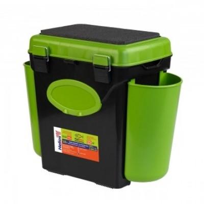 Ящик FishBox односекционный 10л зеленый Helios