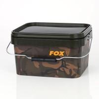 Ведро с крышкой FOX Camo square bucket 5л