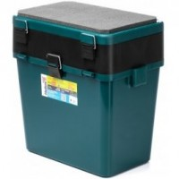 Ящик зимний двухсекционный Тонар Helios M 19л зеленый