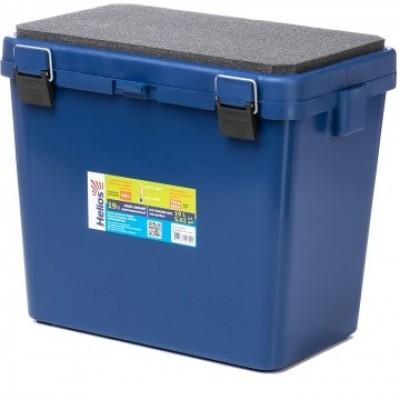 Ящик зимний односекционный Тонар Helios M 19л синий