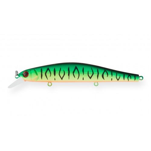 Воблер Минноу Strike Pro Inquisitor 130SP, 130 мм, 26,5 гр, Загл. 1,0м.-2,0м., Нейтральный, цвет: GC01S Mat Tiger, (EG-193C-SP#GC01S)